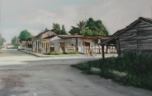 De la serie paisajes urbanos de Güines 1