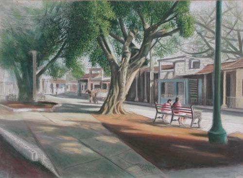 De la serie paisajes urbanos de Güines 2