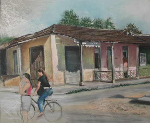 De la serie paisajes urbanos de Güines 3