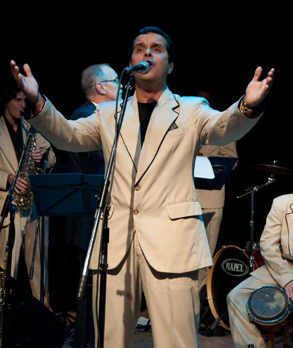 Osva cantando. Foto: Mileidy Morán García.