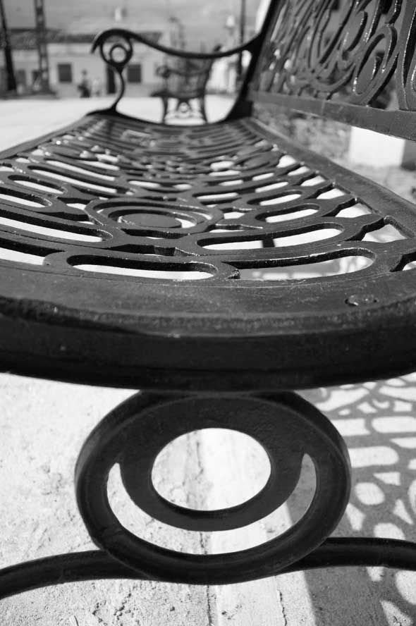 """Líneas de descanso, de la serie """"Trazos"""". 2012. Autor: Mileidy Morán García."""