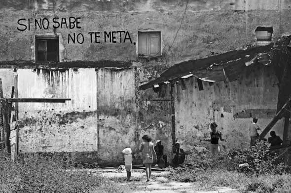 """Universidad para todos, de la serie """"Letras en la calle"""". 2012. Autor: Mileidy Morán García."""