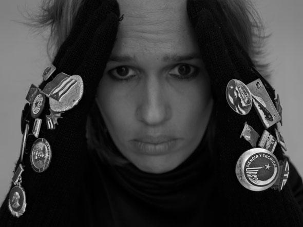 """Ángulo de visión, de la serie """"Sujeto Omitido"""". 2011. Autor: Mileidy Morán García"""