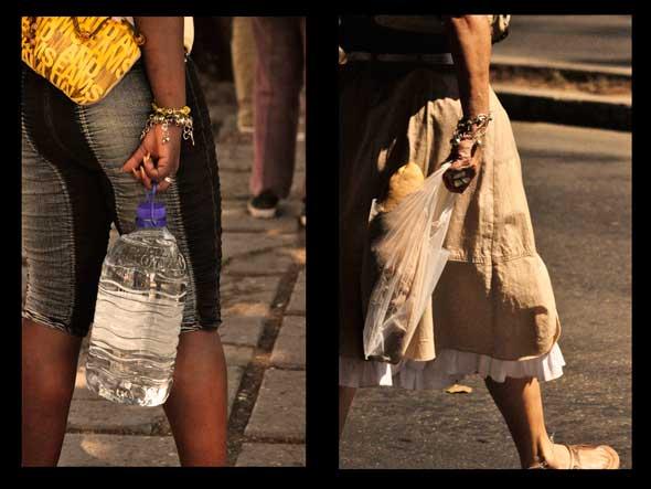 A pan y agua. 2011. Autor: Rody Enríquez.