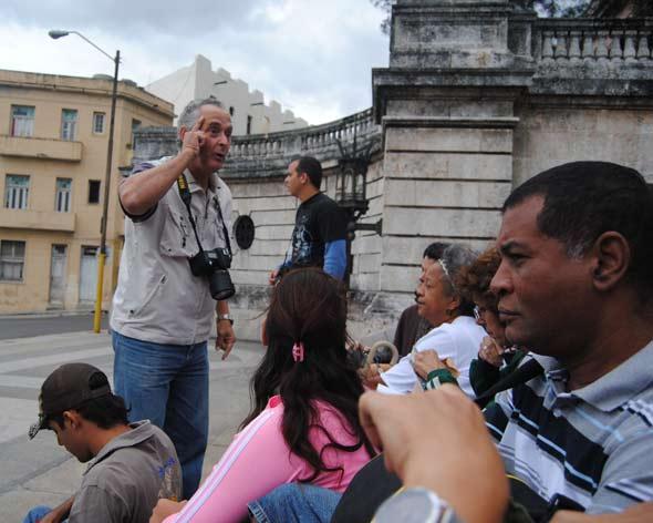 Curso de Fotografía de La Maqueta de La Habana. 2010. Foto: Mileidy Morán García