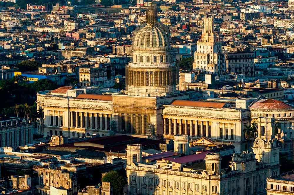 Capitolio Nacional de la Habana. Cuba