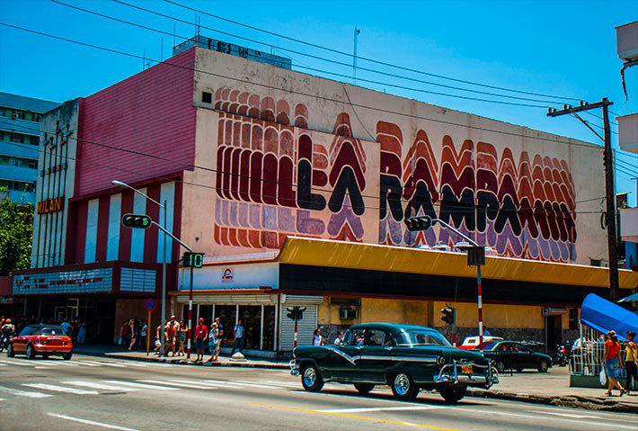 Cine La Rampa.