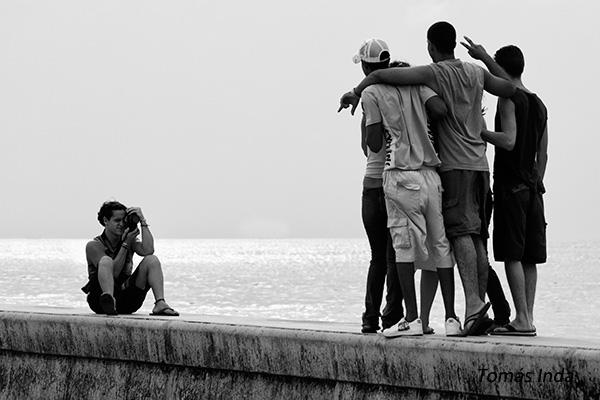 Malecón de la Habana. Foto: Tomás Inda Barrera.