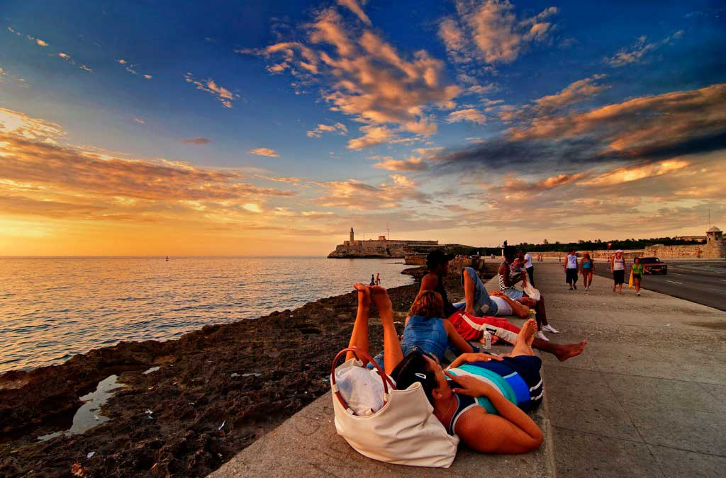 Malecón Habanero. Cuba.