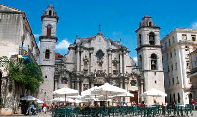 Plaza de la Catedral. Habana Vieja