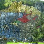 Mural de la Prehistoria. Valle de Viñales. Pinar del Río. Cuba