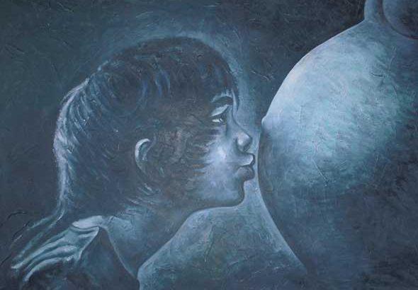 Maternidad. Mixta / Lienzo (100 x 80 cm), 2015